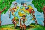 Росреестр приглашает детей принять участие в российском этапе Международного конкурса детской карты мира имени Барбары Печеник